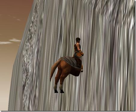cal înfipt